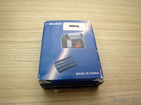 Canon NB-4L CTC Bateria - 1400mAh Canon Powershot SD1400 IS para, ELPH 300 HS, SD1400IS, SD750, ELPH 100 HS, SD1000, SD1100 IS, SD600, S (STK's Canon NB-4L Battery Pack – 1400 mAh for Canon Cannon Powershot SD1400 IS, ELPH 300 HS, SD1400IS, SD750, ELPH 100 HS, SD1000, SD1100 IS, SD600, S) on its packaging