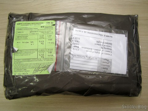 Pacote com o Mini Grinder Pro'sKit PT-5201A (110 V)