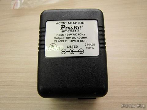 Fonte de Alimentação do Mini Grinder Pro'sKit PT-5201A (110 V)