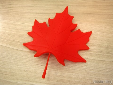 To-Door Style Red Maple Leaf (Maple Leaf Style Door Stopper Guard - Red)