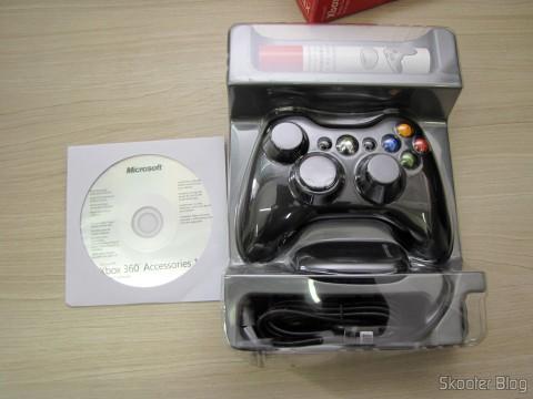 Desembalando o Controlador sem Fio de XBox 360 para Windows com Receptor Novo e Lacrado (Brand New & Factory Sealed Xbox 360 Wireless Controller For Windows Black)