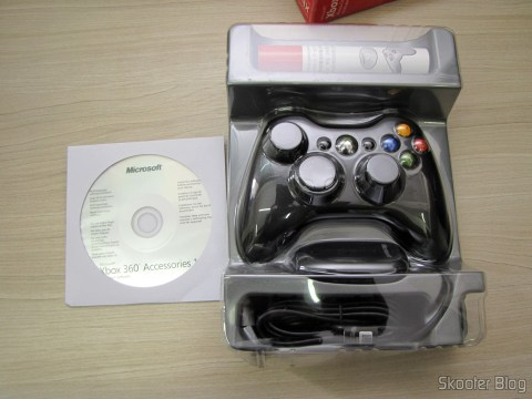 Unpacking the Controller without XBox Wire 360 Receiver for Windows with New and Sealed (Brand New & Factory Sealed Xbox 360 Wireless Controller For Windows Black)