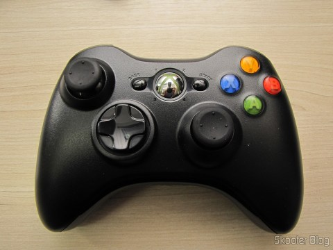 Controlador sem Fio de XBox 360 para Windows com Receptor Novo e Lacrado (Brand New & Factory Sealed Xbox 360 Wireless Controller For Windows Black)