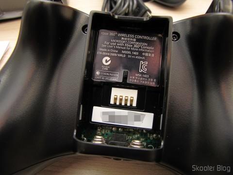 Controlador sem Fio de XBox 360 para Windows com Receptor Novo e Lacrado (Brand New & Factory Sealed Xbox 360 Wireless Controller For Windows Black)