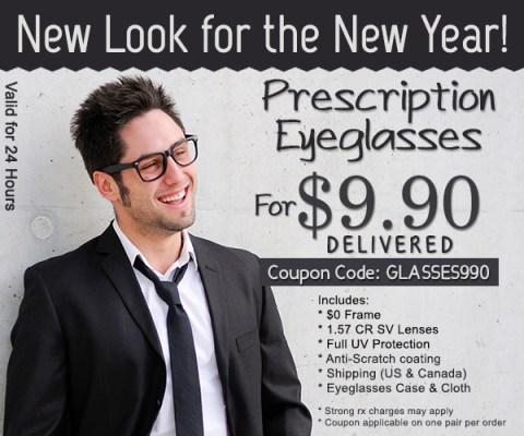 Cupom da Goggles4U: óculos de grau por apenas US$ 9,90