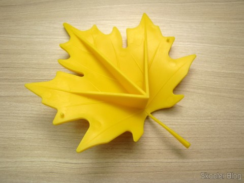 Para-Porta Estilo Folha de Maple Amarelo (Fashion Maple Leaf Style Door Stopper Guard – Random Color)