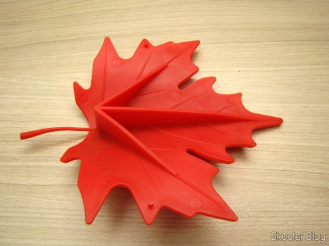 Para-Porta Estilo Folha de Maple Vermelho (Maple Leaf Style Door Stopper Guard – Red)