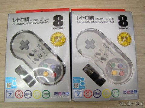 Gamepads the Super Nintendo (SNES) PC Buffalo (Nintendo Super Famicom SNES Gamepad for PC (PC) (BUFFALO)) in their packaging