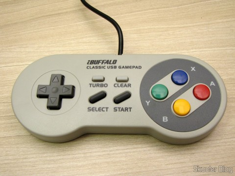 Gamepad de Super Nintendo (SNES) para PC Buffalo (Super Nintendo Famicom SNES Gamepad for PC (PC) (BUFFALO))