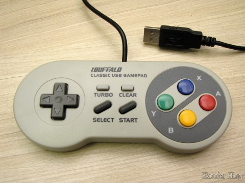 Super Nintendo gamepad (SNES) PC Buffalo (Nintendo Super Famicom SNES Gamepad for PC (PC) (BUFFALO))