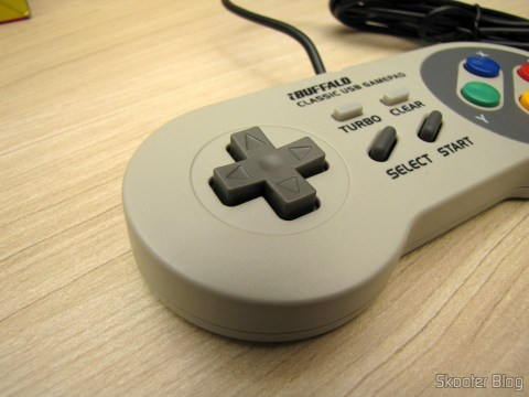 Directional Gamepad Super Nintendo (SNES) PC Buffalo (Nintendo Super Famicom SNES Gamepad for PC (PC) (BUFFALO))