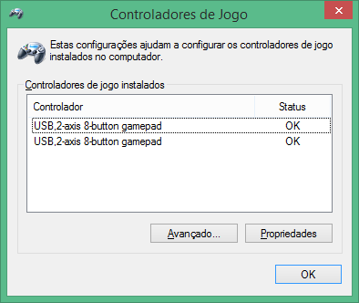 Gamepads the Super Nintendo (SNES) PC Buffalo (Nintendo Super Famicom SNES Gamepad for PC (PC) (BUFFALO)) detected and automatically installed drivers in Windows 8.1