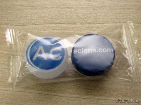 Estojinho to store a pair of contact lenses, toast of AC Lens
