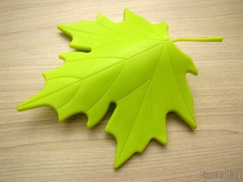 To-Door Style Maple Leaf Green (YSDX-382 Maple Leaf Style EVA Door Stopper - Green)
