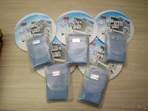 5 Fabric Cleaning Hi-Tech Gadgets for 3M Scotch Brite (3M Scotch Brite Hi-Tech Cleaning Cloth for Gadgets (Random Color))