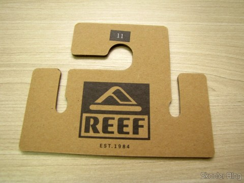 Of the package of Slippers Pair Reef XS Male (Reef Men's X-S Flip Flop)