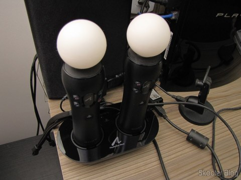 Playstation Move Charging Station, operation