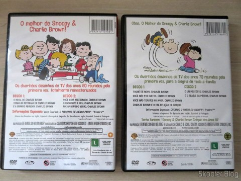 Snoopy & Charlie Brown: Collection Years 60 and Collection Years 70