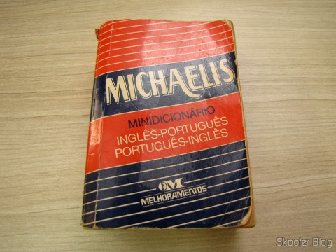 My Mini Dictionary Michaelis English-Portuguese and Portuguese-English the years 80