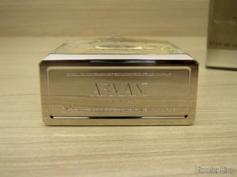 Parte de baixo do frasco de Armani de Giorgio Armani EDT de 100ml