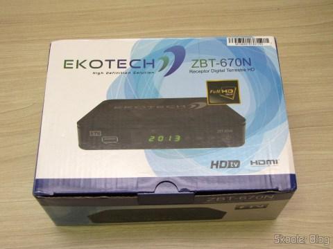 Ekotech ZBT-670N, em sua embalagem