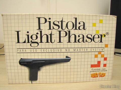 Light Phaser gun in your pack