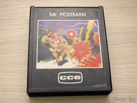 Cartucho Mr. Postman do Atari 2600