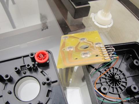 Restaurando o joystick com o kit de PCB banhada a ouro e torre nova