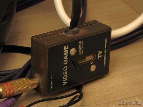 Chave comutadora de antena em funcionamento