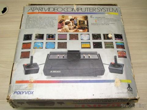 Caixa do Atari 2600 da Polyvox