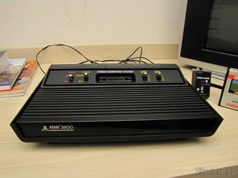 Atari 2600, após a limpeza padrão Skooter de qualidade