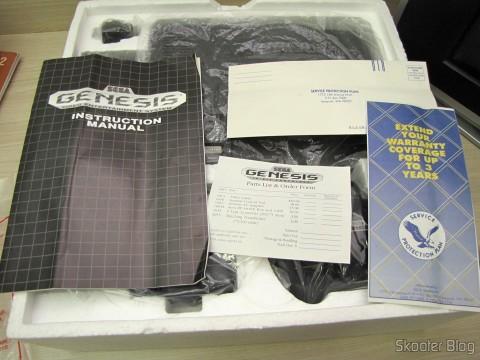 Manuals and Brochures Sega Genesis