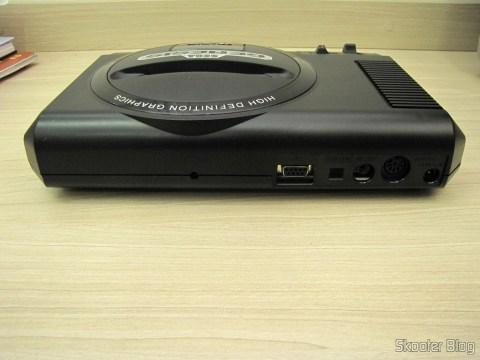 Rear console Sega Genesis