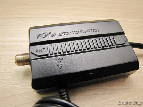 RF cable and automatic switch Sega Genesis