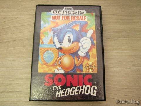 Cartridge Sonic The Hedgehog in your box