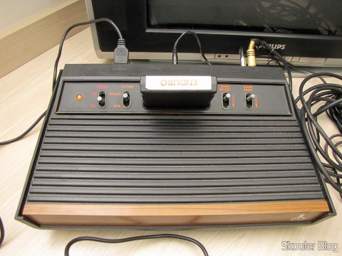 The Atari VCS / 2600 with S-Video, Composite Video, Stereo audio Pause and ready to run