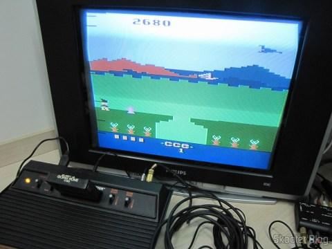 Bobby is Going Home no Atari VCS/2600 através da saída de vídeo composto
