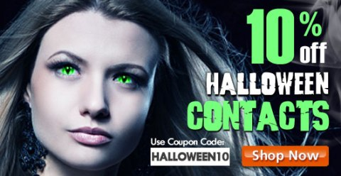 AC Lens - 10% Off Halloween Contact Lenses