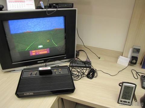 Teste das fontes de alimentação do Atari 2600 com o Kill A Watt