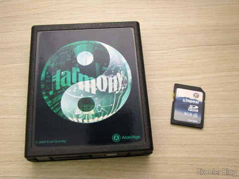 Harmony Cartridge - O cartucho com memória flash para o Atari 2600 e cartão SDHC Kingston de 8GB
