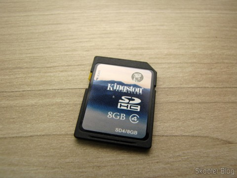 Kingston 8GB SDHC card that came with your Harmony Cartridge - The cartridge with flash memory for the Atari 2600