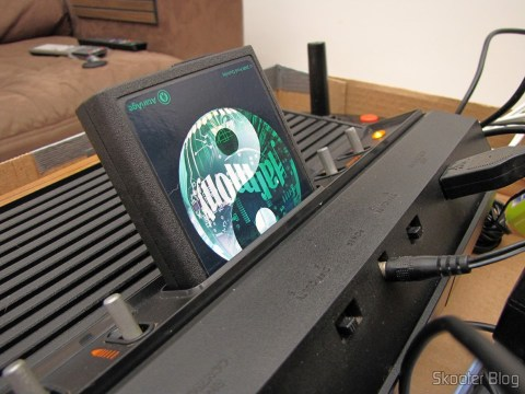 Harmony Cartridge - O cartucho com memória flash para o Atari 2600, em funcionamento