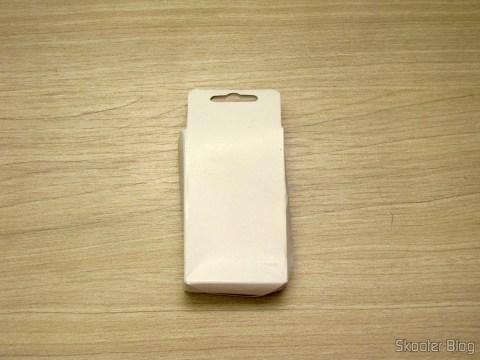"Bateria BL-5C-GD 3.7V ""2450mAh"" Golden, on its packaging"