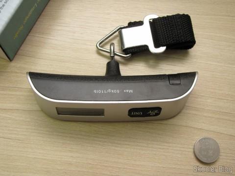 Balança Digital de Bagagem com LCD 1.4″ 50Kg/50g (1.4″ LCD Digital Luggage Scale – 50kg/50g (1 x CR2032))