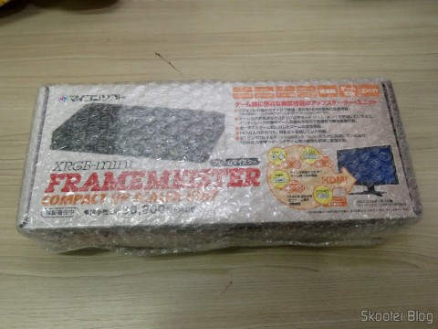 Framemeister XRGB Mini, on its packaging