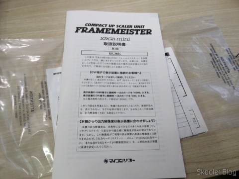 Manual de instruções do Framemeister XRGB Mini