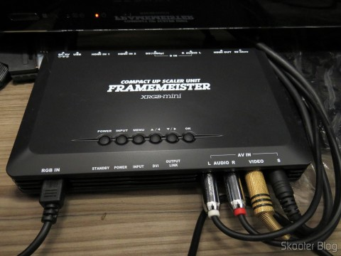 Framemeister XRGB Mini with attached cables