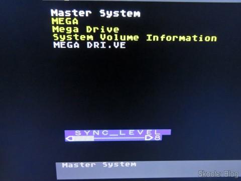 Ajuste de nível de sincronização no Framemeister XRGB Mini