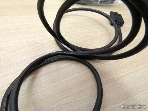 RGB SCART Cable for Super Nintendo (SNES) NTSC / PAL-M with CSYNC