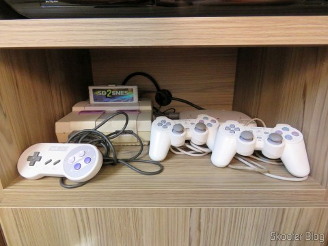 Cabo SCART RGB do Super Nintendo (CSYNC), SCART RGB Playstation (Sync-on-Luma), with upgrade to Mini Coax and SCART adapter Framemeister, operation